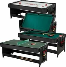 Fat Cat 64-1046 3-in-1 Pockey Multi-Game Table - Green