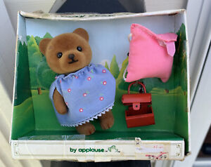 Teddy Bear Story , Applause-Teddy April With Backpack And Lunch Box
