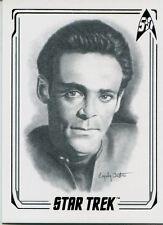Star Trek 50th Anniversary [2017] Artifex Chase Card 30 Dr. Bashir