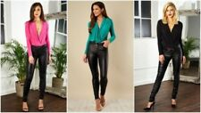 Classic Regular Size Tops & Shirts for Women with Pleated