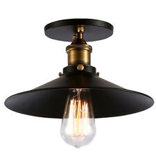 Vintage Industrie Stil Hängend Deckenlampe Cafe Bar DIY Korridor Veranda Lampe