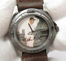 BABE RUTH, 53298-1/F, Time Life Photo, Brown Leather Band, Mens/Boys WATCH, 1411