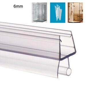 BATHROOM PVC PLASTIC SHOWERSCREEN SHOWER SCREEN DOOR WATER SEAL STRIP LINING 6MM