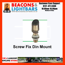DIN pole I BOLT Fix Mount  for Britax Vision Alert Beacons - 100.058