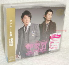 Tackey & Tsubasa TEN [10th PAST Ver.] Taiwan Ltd 2-CD+DVD