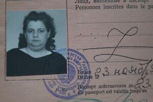 1989 Reisepass Pass Passport Ausweis UdSSR Sowjetunion Ukraine ID паспорт