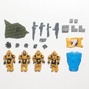 Mega Bloks Construx Halo CND00 UNSC Fireteam Eagle lot *New Sealed* Blocks Toys