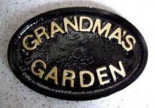 Plastic/Resin Garden Plaques & Stones
