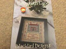 Evergreen Lane Cross Stitch Chart By Blackbird Designs