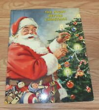 "Vintage Ideals Publications ""The Night Before Christmas"" Paperback Book **READ**"