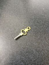 Brass & Stainless Steel Pocket Watch Key Number 4  (v)