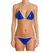2d8361a3e1 maillot de bain 2 pièces SOLEIL SUCRE bleu/argenté sequins taille M(38/