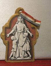 GUERRE 14 18 MEDAILLE INSIGNE JOURNEE ORPHELINS 1914 1918