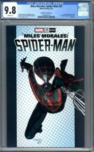 Miles Morales: Spider-Man #25  Mike Mayhew Exclusive Variant 1st Print  CGC 9.8