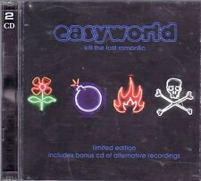 Easyworld ' Kill the Last Romantic ' CD album + bonus disc, 2003 on Zomba