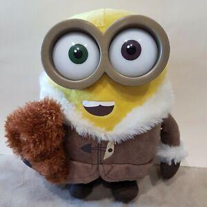 SPECIAL EDITION New BOB Minions soft toy Bob Minion with Bear Soft Toy Plush p5