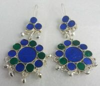 Afghan Authentic Traditional Earrings Ethnic Tribal Crescent Tribal Jewelry