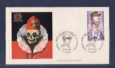 enveloppe 1er jour   anniversaire de la libération  général Koenig  Caen  1974
