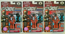 GI Joe 30th Anniversary Renegades COBRA Hazard Viper Carded x3
