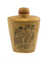 Bottiglia Bottiglietta Boccetta Arte Shunga Erotico Raro - 1083 -K360