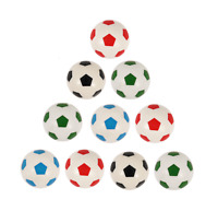 1-50 Football Bouncy Balls Boys Childrens Party Bag Fillers Toy Gift Prizes Loot