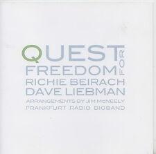 RICHIE BEIRACH  DAVE LIEBMAN    CD  QUEST FOR FREEDOM