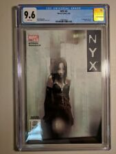 CGC 9.6 NYX #3 MARVEL COMICS 2004 1ST APPEARANCE OF X-23 (LAURA KINNEY WOLVERINE