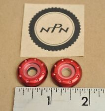 New NOS New Arai HJC Icon Helmet Visor Gear Plate Red Replacement Parts