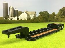 1/64 ERTL BLACK WIDE LOWBOY TRAILER