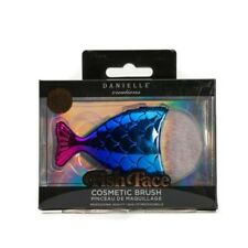 Rainbow Mermaid Contour Foundation Cosmetic BRUSH Danielle Creations Makeup Fish