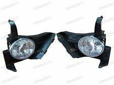 1Pair Front Bumper Fog Lights Lamps For Honda CRV 2005-2006