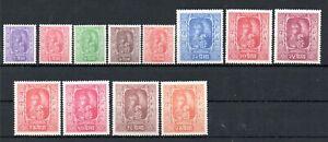 NEPAL , 1954 , KING , scarce full set DEFINITIVES , MNH
