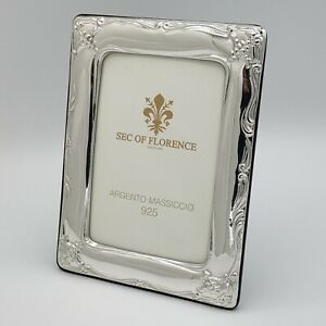 """7""""x5"""" in Solid 925 Sterling Silver Photo Picture Frame* 1018 /13×18 USA"""