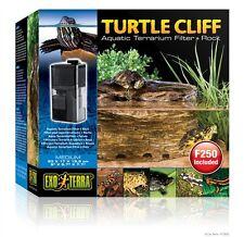 Exo Terra Turtle Cliff Filter Rock Medium with Filter, pt-3650