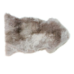 Neuseeland Schaffell Lammfell hell taupe 95 cm