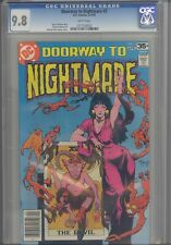 Doorway to Nightmare #2 CGC 9.8 1978 DC Comics Gerry Conway Story: Make an Offer