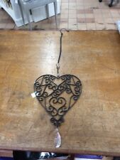 Decorative Metal Hanging Heart - New