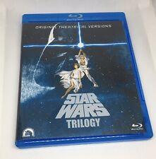 Star Wars Despecialized Trilogy Bluray 3-disc set