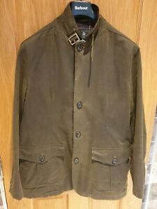 MENS BARBOUR LUTZ WAXED JACKET.