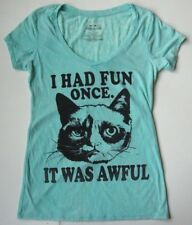 Women's GRUMPY CAT T shirt size MEDIUM M