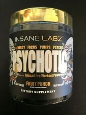 Psychotic Gold Pre Workout - 35 Serving - By Insane Labz