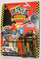 1991 Tyco Crash Test Dummies * Japanese * Jack Hammer Carded Japan Package
