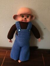 Baby Monkey Doll: Cute As A Button So Truly Real Vinyl Monkey