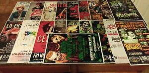 Huge 19 Concert poster lot ICP, Twiztid, Yelawolf, Suicide Girls FREE S&H