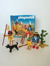 Playmobil 3396  - Indian family with horse (Klicky, OVP)