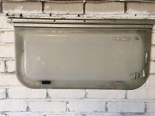 Late 80's Avondale Caravan Side Opaque Toilet Window 750mm w x 375mm h