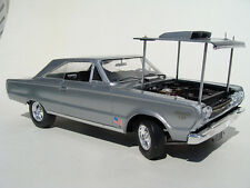 1967 DANBURY MINT PLYMOUTH GTX SILVER BULLET 1:18 SCALE (HURRY!!!!!!!!!!!)