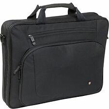 "Victorinox 17"" Laptop Bag Carrier Large Slimline Black Swiss Computer Case NEW"