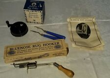 Vintage Bluenose Rug Hooker Bernat Automatic Rug Cutter and More