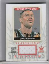 2013-14 SPORTKINGS #SKR18 DAVID ROBINSON JERSEY SAN ANTONIO SPURS B075